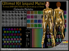 ultimat Kit liquidmetal catsuit psd