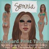 .: Somnia :. Leopard Print Tattoo {BOXED}
