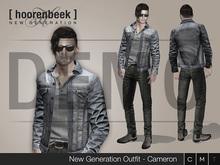[ hoorenbeek ] NG Outfit - BOX - Cameron - DEMO