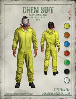 [DustyHut] Chem Suit - SIGNATURE / BELLEZA / SLINK