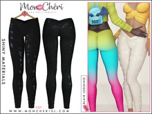 *Mon Cheri* Blair Leggings - Glitter Camo Black