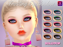 ~Dollypop~ Frosting Eyeshadow - Baked On Mesh & Omega (LAQ FIT)