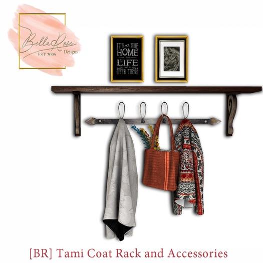 [BR] Tami Coat Rack and Accessories