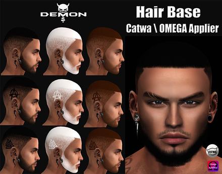 Hair Base - Catwa \OMEGA  Applier