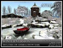 TMG - AVALON IN WINTER* Fantasy Fairytale Garden with 108 Animations