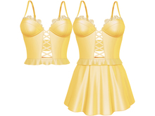 EVIE - Flashback Dress&Top - Yellow