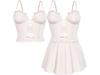 EVIE - Flashback Dress&Top - White