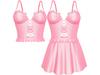 EVIE - Flashback Dress&Top - Pink