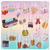 Hangry // Carby Earrings - Pie