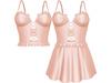 EVIE - Flashback Dress&Top - Nude