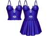 EVIE - Flashback Dress&Top - Blue