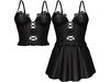 EVIE - Flashback Dress&Top - Black