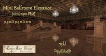 Mini Ballroom Elegance (1024 sqm Plot)