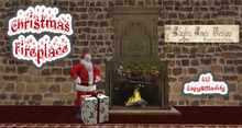 Christmas Fireplace 2 (Box)