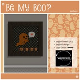 Widdershins - Be My Boo? -Picture-