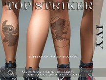 TOP STRIKER /  IVY TATTOO   ** PROMO GIFT  **