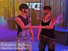 Creative Stylez - Bento Poses - Fist Bump Male -