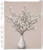 dust bunny . pom pom plant . white . boxed