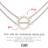 Cae :: You Are My Sunshine :: Necklace [bagged]
