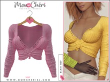 *Mon Cheri* Blair Tied Top #14 Warm Pink