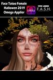 F.A.S.H VIPER - Tatoo Face Female Hallowen 2019 - Umpack