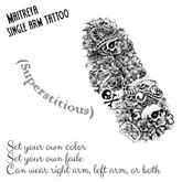 Superstitious tattoo (Maitreya)