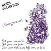 Shogusan tattoo (Maitreya)