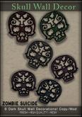 :Z.S: Skull Wall Decor Dark