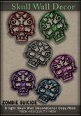 :Z.S: Skull Wall Decor Light
