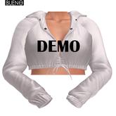 BUENO-Ari Cropped Jacket-DEMO