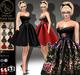 Market arisarisb w coal40 cadillac pinup dress vendor copia