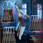 [AF] Aradya Purple Mini Dress#06