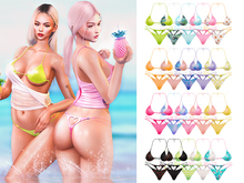 EVIE - Summer Time - Bikini - Fatpack