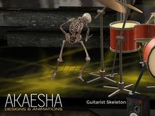 Skeleton Guitarist - Skeleton Rock Band (Animesh) - Halloween Special