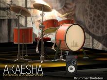 *- Akaesha's -* Animesh Skeleton (Drummer) Box