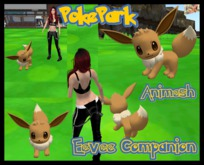 ::.PokePark.:: Animesh Eevee Companion BOXED