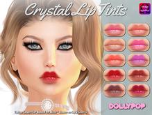 ~Dollypop~ Crystal Lip Tints - Baked On Mesh & Omega