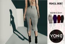 ::VOND:: PENCIL SKIRT Full Pack Hud