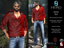 HERO - Jason Outfit Red