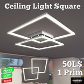 *DenPaMic* Ceiling Light Square