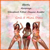 TA Gail 5 mini dress