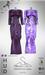 [sYs] TARANTULA dress (body mesh) - claret & violet HUD