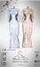 [sYs] TARANTULA dress (body mesh) - white & beige HUD