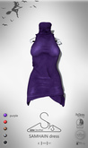 [sYs] SAMHAIN dress (fitted & body mesh) - purple GIFT <3