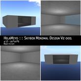 HelaMiyo :: Skybox Minimal Design 001 v2 4 LI