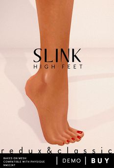Slink AvEnhance Feet Female High