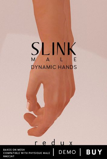 Slink Dynamic - Hands - Male