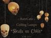 .: RatzCatz :. Ceiling Lamp Skulls
