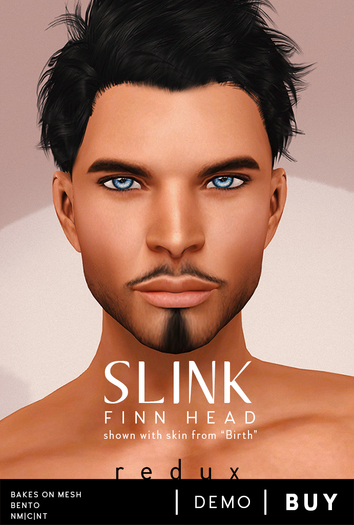 Slink Visage Head Pack - Finn