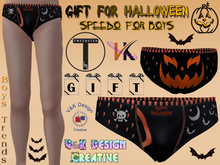 V&K Design Tweenster *GIFT* Halloween Speedos for Boys
